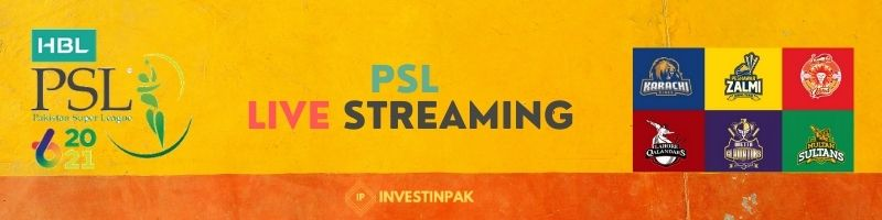 psl live streaming 2021