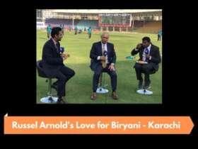 Former Sri Lankan cricketer and commentator shows love for Karachi student Biryani