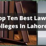 Best Law Schools In Lahore