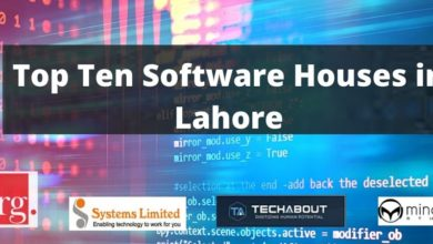To Ten Software Houses in Lahore