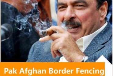 fencing of Pak Afghan border