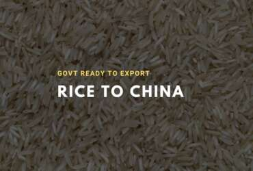 Pakistan ready to export rice to china